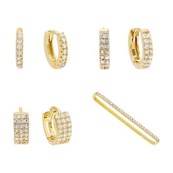 Pavé Earring Combo Set