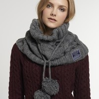 Superdry Cable Snood
