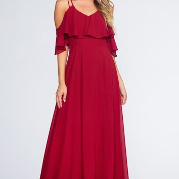 Mythical Romance Maxi Dress - Merlot