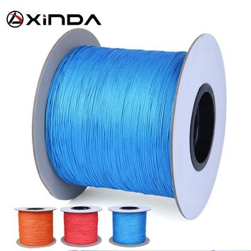 XINDA 2mm denima rope string  throwing mountaineering activities wear tree climbing rope throwing  50M Jungle crossing Equipment