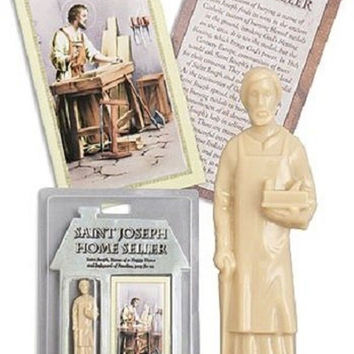 Saint Joseph Home Seller Statue Kit Single