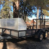 2004 Texas Bragg 14 Ft Heavy Duty Utility Trailer