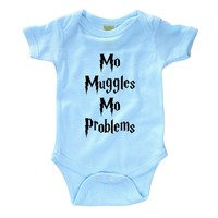 Mo Muggles Mo Problems Infant Onesuit
