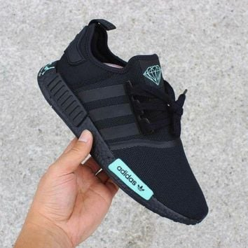 Diamonds x Adidas NMD Black Shoes Sneaker