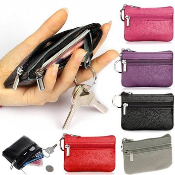Small Change Money Bags Pocket Wallets Key Holder Case Mini Pouch