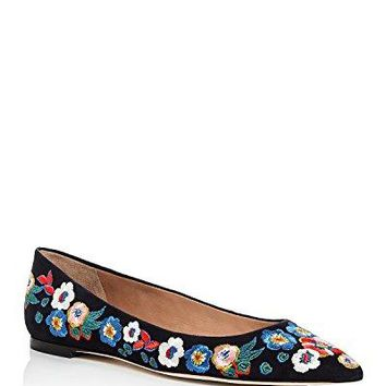 Tory Burch Women's Rosemont Embroidered Ballet Flat