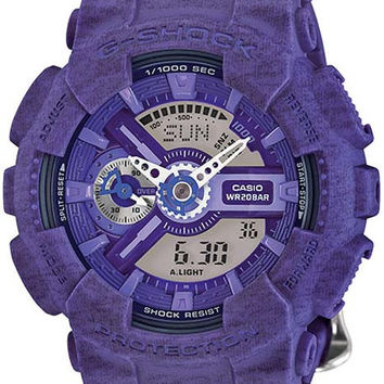 Casio G-Shock S-Series - Violet Heather Pattern - Magnetic Resistant
