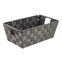 Kennedy Home Collection Woven Strap Shelf Tote - Small