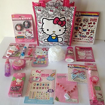Hello Kitty Sanrio Bag of Glam Gift Set Perfect for Valentine's Day, Easter, Birthdays, or any other Special Occassion