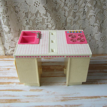 Barbie Dream Kitchen Partial Set Vintage 80s