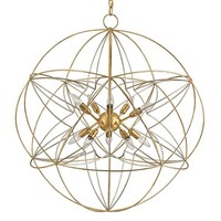 Currey and Company Zenda Orb Chandelier | New Lighting | What's New! | Candelabra, Inc.