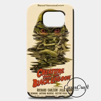 Creature From The Black Lagoon Poster Samsung Galaxy Note 8 Case | casescraft