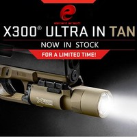 Element Tactical X300 Ultra Weapon Lights Pistol lanterna Airsoft Flashlight with Picatinny Rail EX 359
