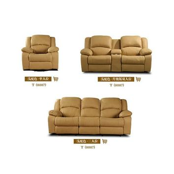 1-2-3 Seater Modern  Genuine  Leather Electrical Recliner Sofa