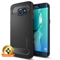 Spigen For Samsung Galaxy S6 edge Plus [Rugged Armor] Shockproof Cover TPU Case