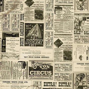Vintage Events Printed Photography Background / 7369