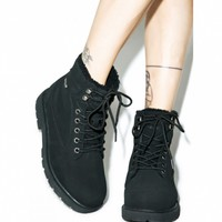 REGIMENT FLEECE LINED BOOTS