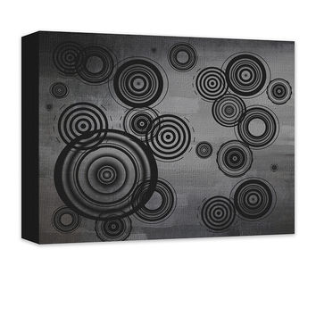 Circles Abstract I Canvas Wall Art