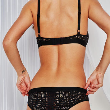 Essaouira Brief in Black