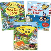 Usborne Books & More. Busy Book Starter Collection (3)