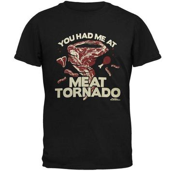 Chenier Parks and Recreation - Meat Tornado Mens T Shirt