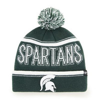 NCAA Michigan State Spartans Ellie Cuff Knit Beanie with Pom