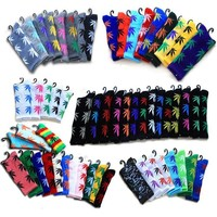 Every Color of CannaSox! Pot Leaf Crew-Length Socks