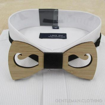 Men's Party Collection #4 Wooden Bow Ties - 4 Styles