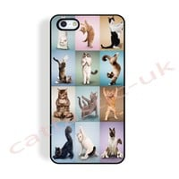 case,cover fits iPhone,samsung models>because cats,yoga,funny,cute,cat,gift,