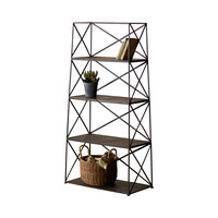 Divide It Up Iron Shelving Unit