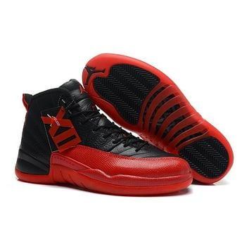 Air Jordan 12 Retro Xii Aj12 Red/black Basketball Shoes Size Us5.5 13 | Best Deal Online