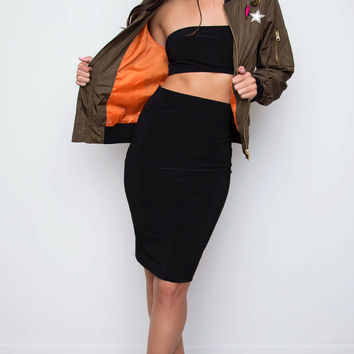 Shop Priceless Coraline Pencil Skirt