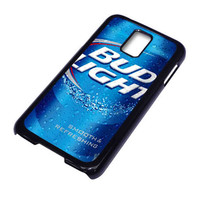 Bud Light Beer For Samsung Galaxy S5 Case ***