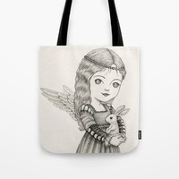 Peace Tote Bag by Laurie A. Conley