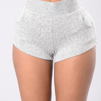Simply Irresistible Shorts - Grey