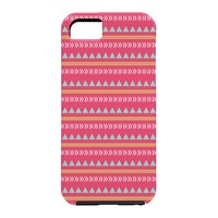 Allyson Johnson Pink Native Aztec Cell Phone Case