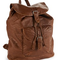 Vegan Leather Southwest Backpack