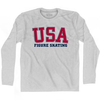 USA Figure Skating Ultras Long Sleeve T-shirt