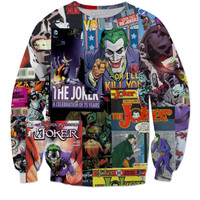 Joker Comic Sweater