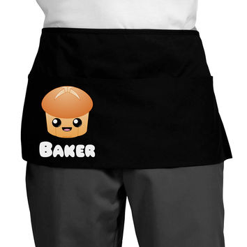Baker Cute Roll Dark Adult Mini Waist Apron