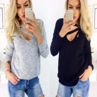 Fashion Sweatshirt Ladies Tops