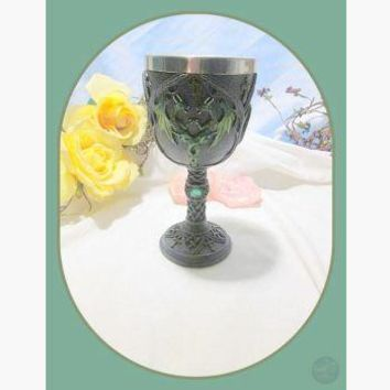 """Double Green Dragon"" Chalice"