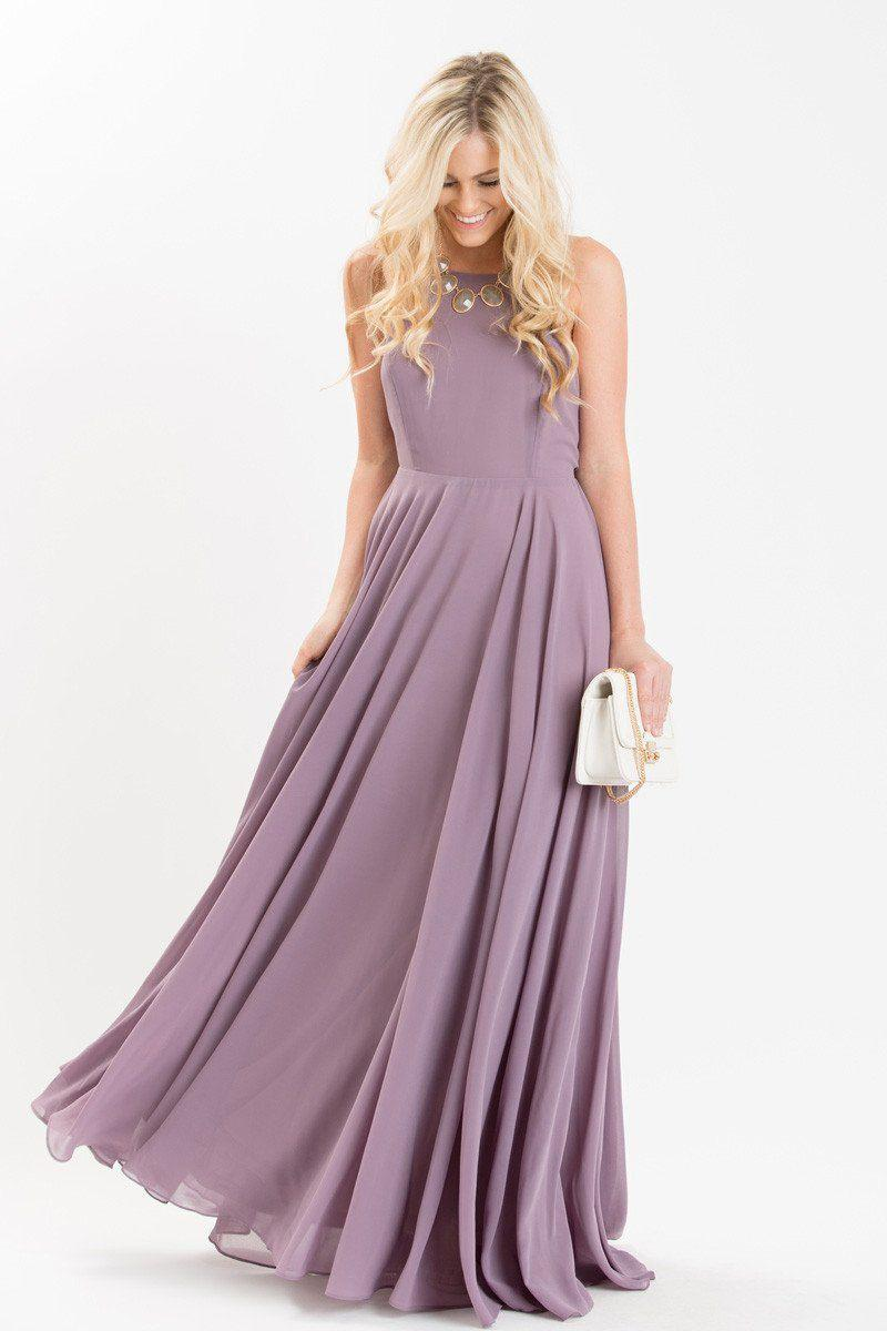 ca21a1cfede Emma Lavender Flowy Maxi Dress from Morning Lavender