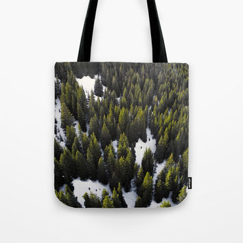 Winter Forest Tote Bag by ARTPICS