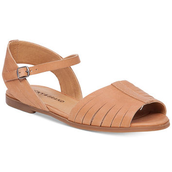 Lucky Brand Channing Flat Sandal Clay