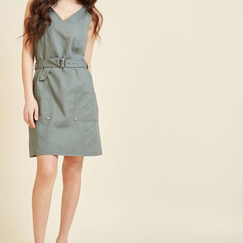 Adventure's Doorstep Sheath Dress