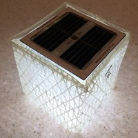 Solight Solarpuff Portable Compact LED Solar Lantern