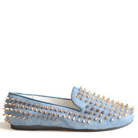 Hellraiser Spiked Loafers By UNIF - $163.00: ThreadSence, Women's Indie & Bohemian Clothing, Dresses, & Accessories