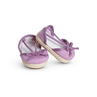 American Girl® Accessories: Purple Espadrilles