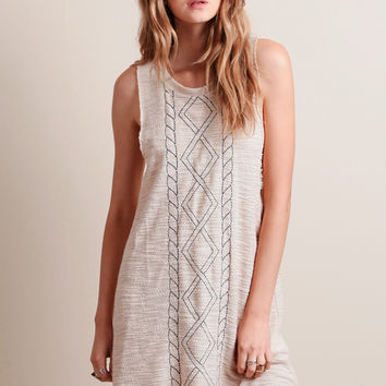 Trade Off Knit Dress By Somedays Lovin